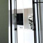 De ruimtes worden op een stijlvolle manier met elkaar verbonden.