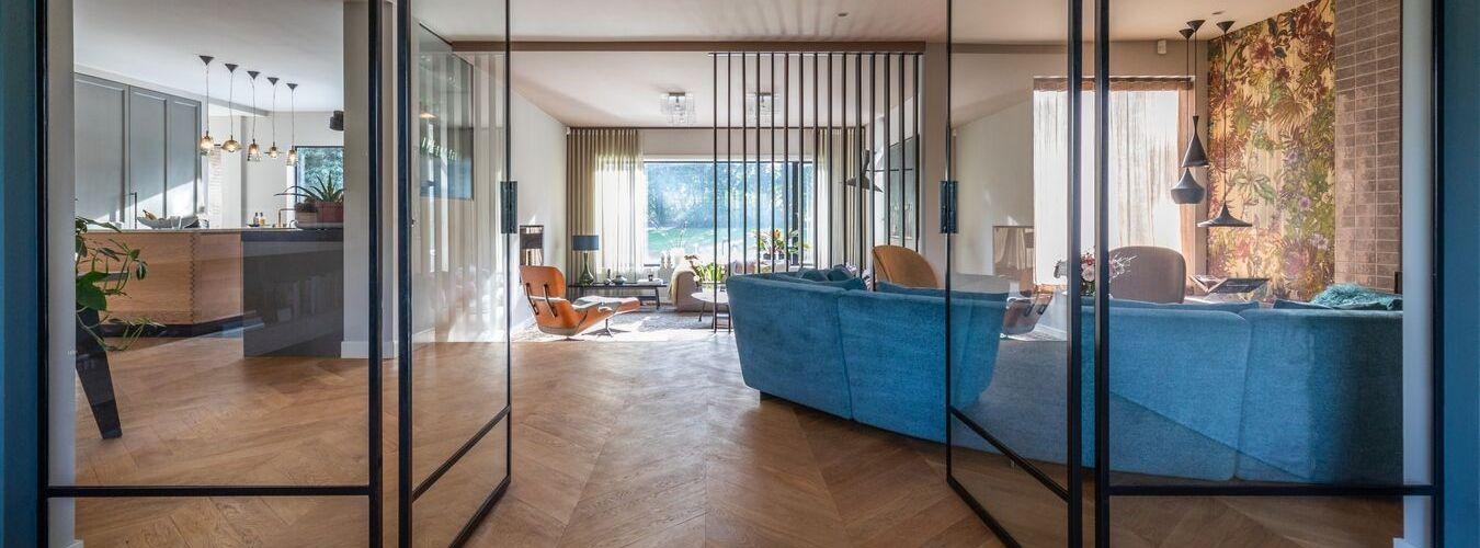 stalen deuren - stalen binnendeuren - stalen taatsdeuren gerealiseerd door Stalen Deuren Huys