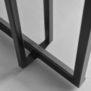 detail stalen deur