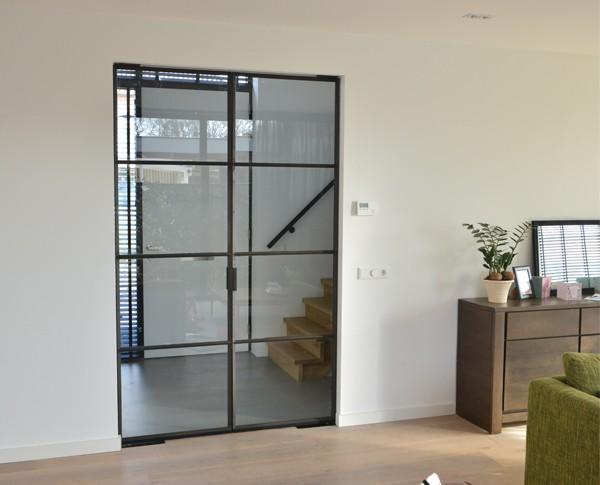 Moderne taatsdeur, Stalen deur, Taatsdeur, Moderne deur