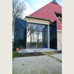 stalen buitendeur, project harlingen, realisatie door StalenDeurenHuys