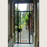 Stalen buitendeur, project mechelen, realisatie stalen deur door StalenDeurenHuys