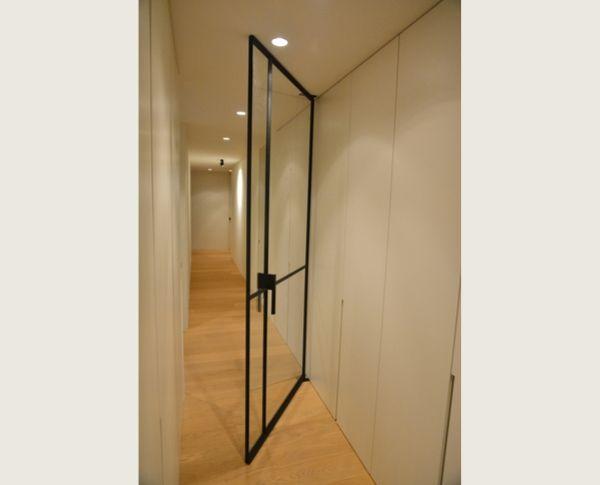 stalen taatsdeur, project zolder, realisatie stalendeurenhuys, stalen deuren