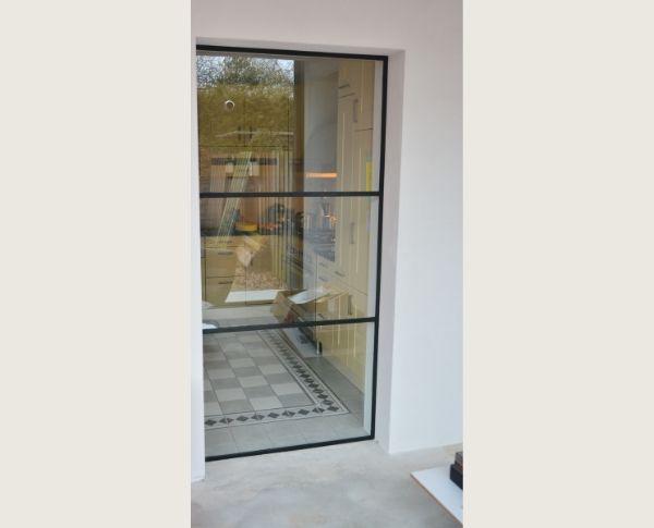 stalen raam, binnenraam, project Rucphen, realisatie StalenDeurenHuys
