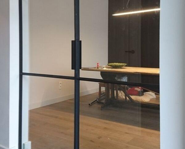 stalen taatsdeur, olmen, stalen deuren gerealiseerd door Stalen Deuren Huys