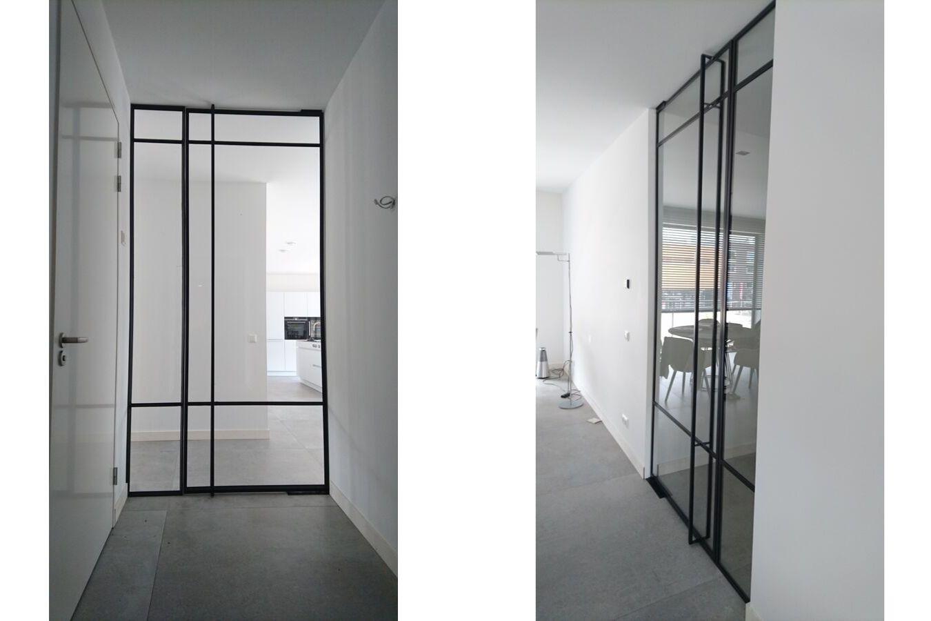 Stalen taatsdeur overveen, stalen deuren op maat door Stalen Deuren Huys