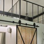 stalen ramen in kantoor, showroom gerealiseerd door StalenDeurenHuys