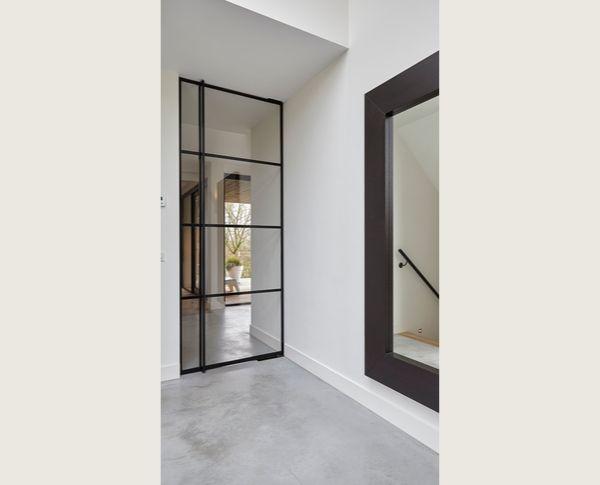 stalen taatsdeur, project velp, realisatie stalendeurenhuys, stalen deuren