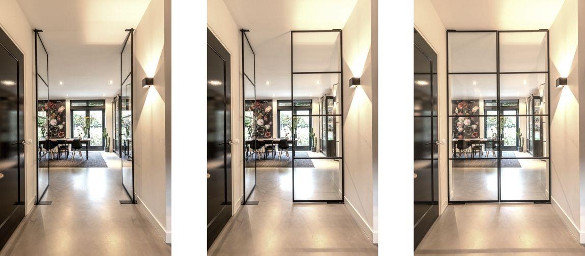 stalen taatsdeur , project hilversum, stalen deuren gerealiseerd door StalenDeurenHuys