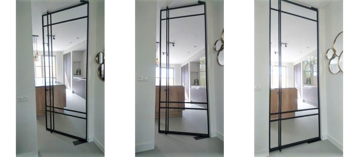 stalen taatsdeuren in woonkamer Eindhoven