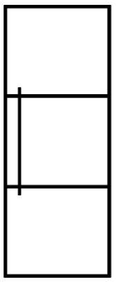 standaard stalen deuren - model 2