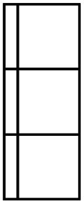 standaard stalen deuren - model 3