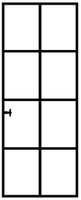 standaard stalen deuren - model 5
