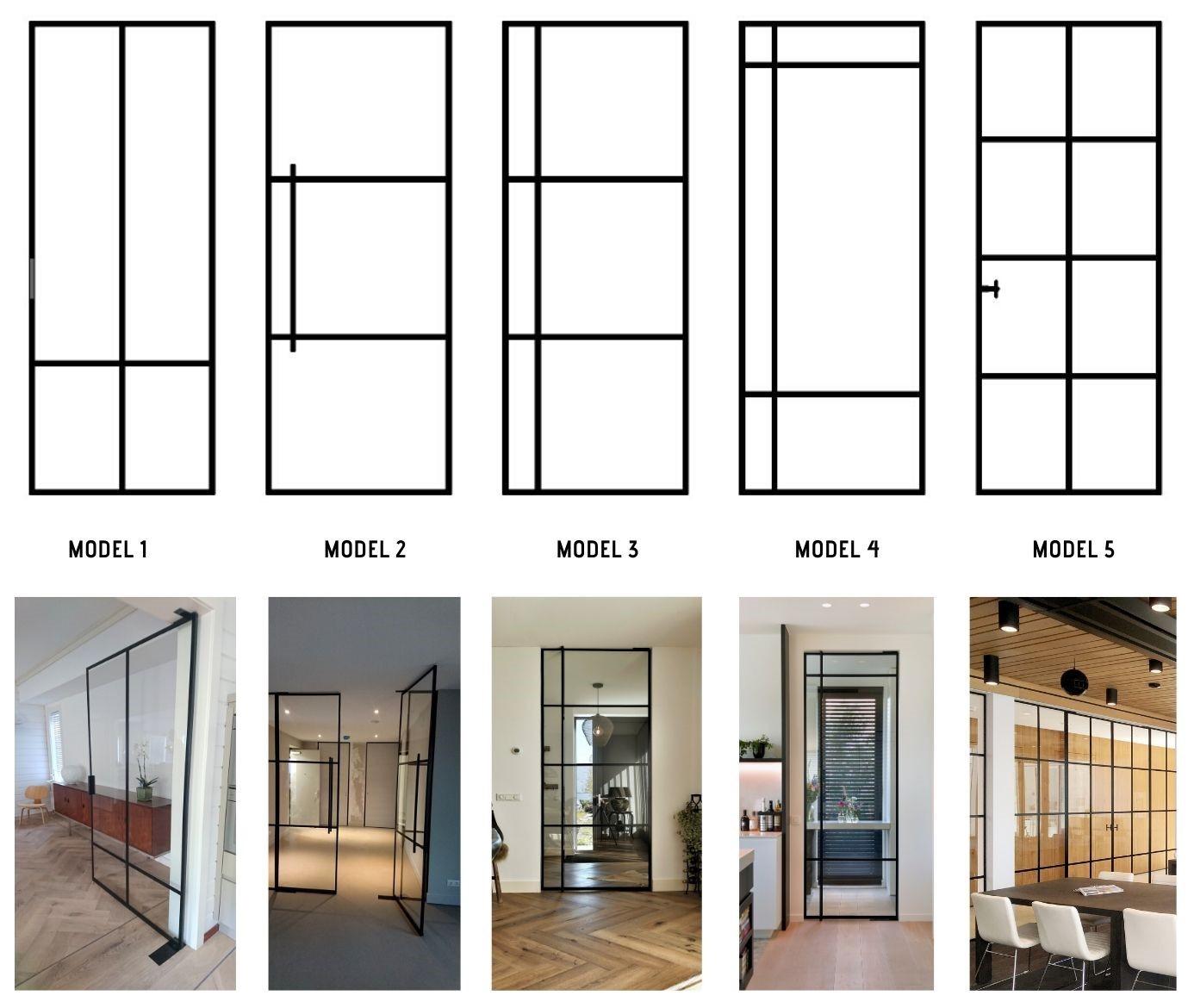 stalen standaard deuren modellen