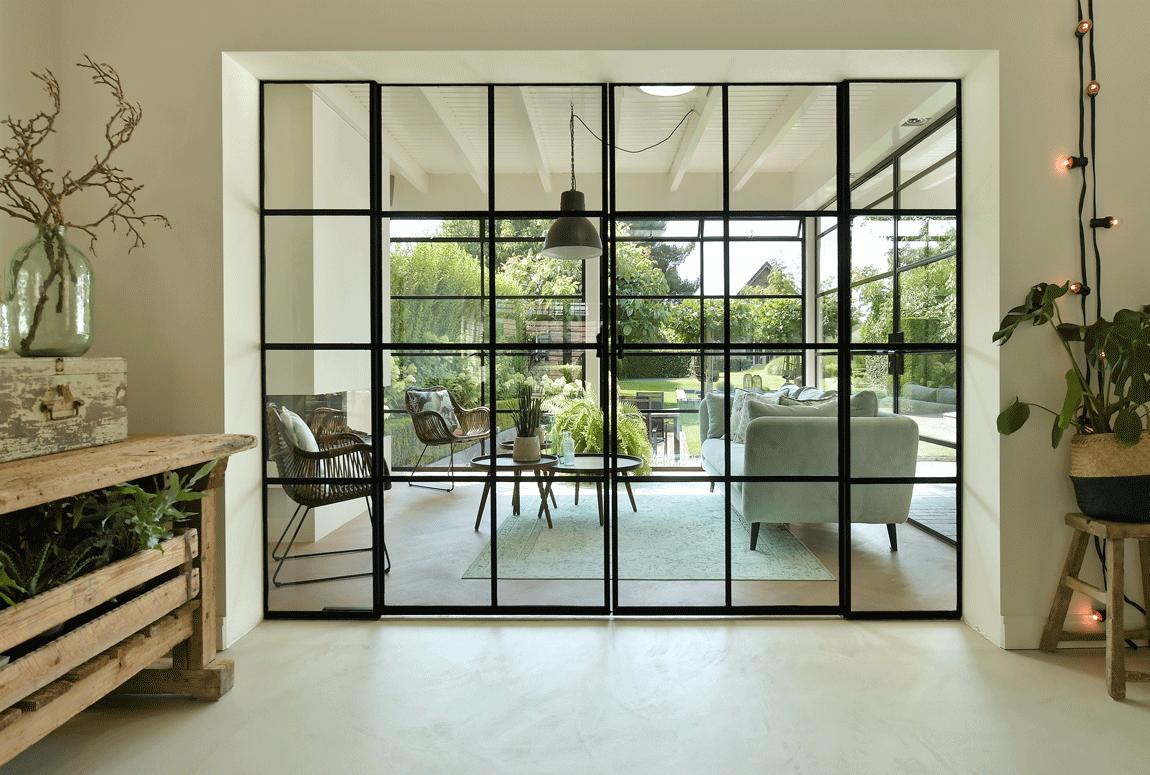 ontwerp uw eigen stalen deuren - retrosteel