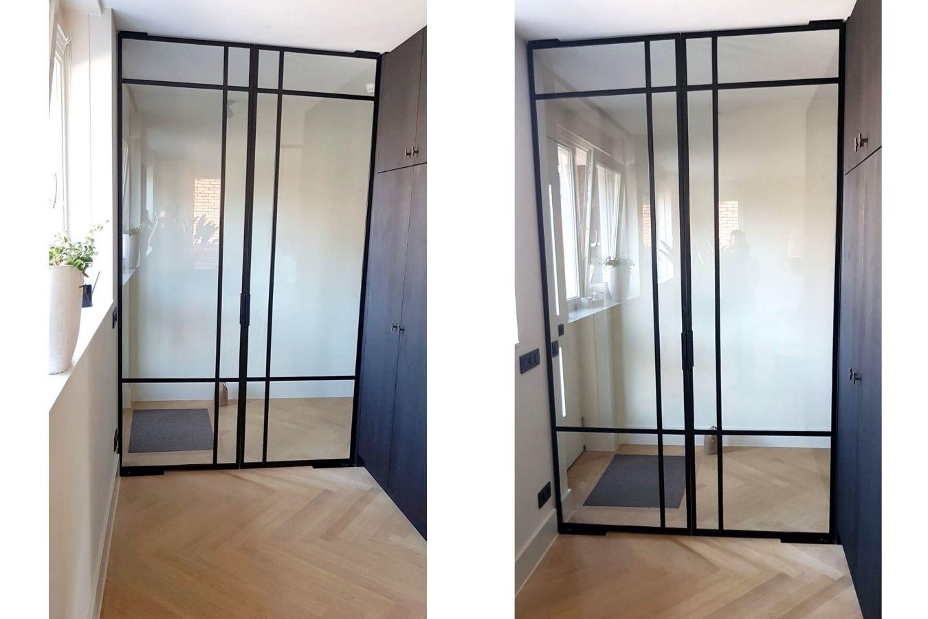 Dubbele stalen binnendeuren in Zoeterwoude - Stalen taatsdeuren op maat