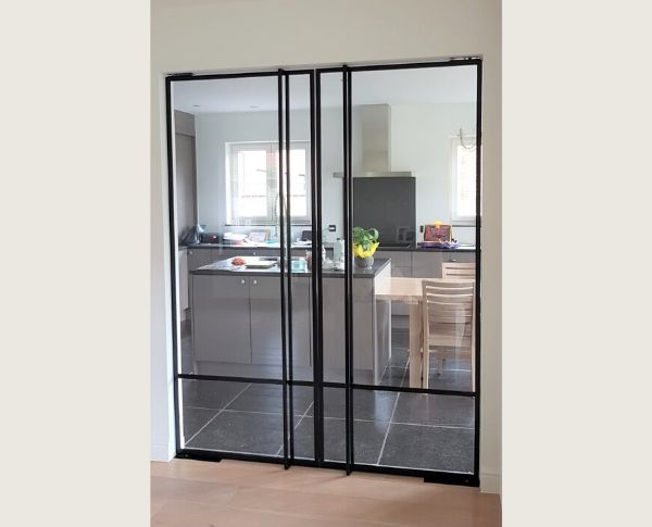 metalen deuren in Wijer - pivotdeuren op maat - StalenDeurenHuys