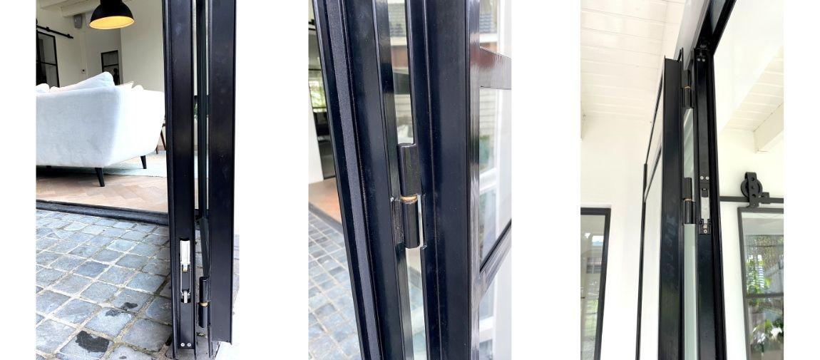 stalen profielen vouwdeuren showroom stalendeurenhuys