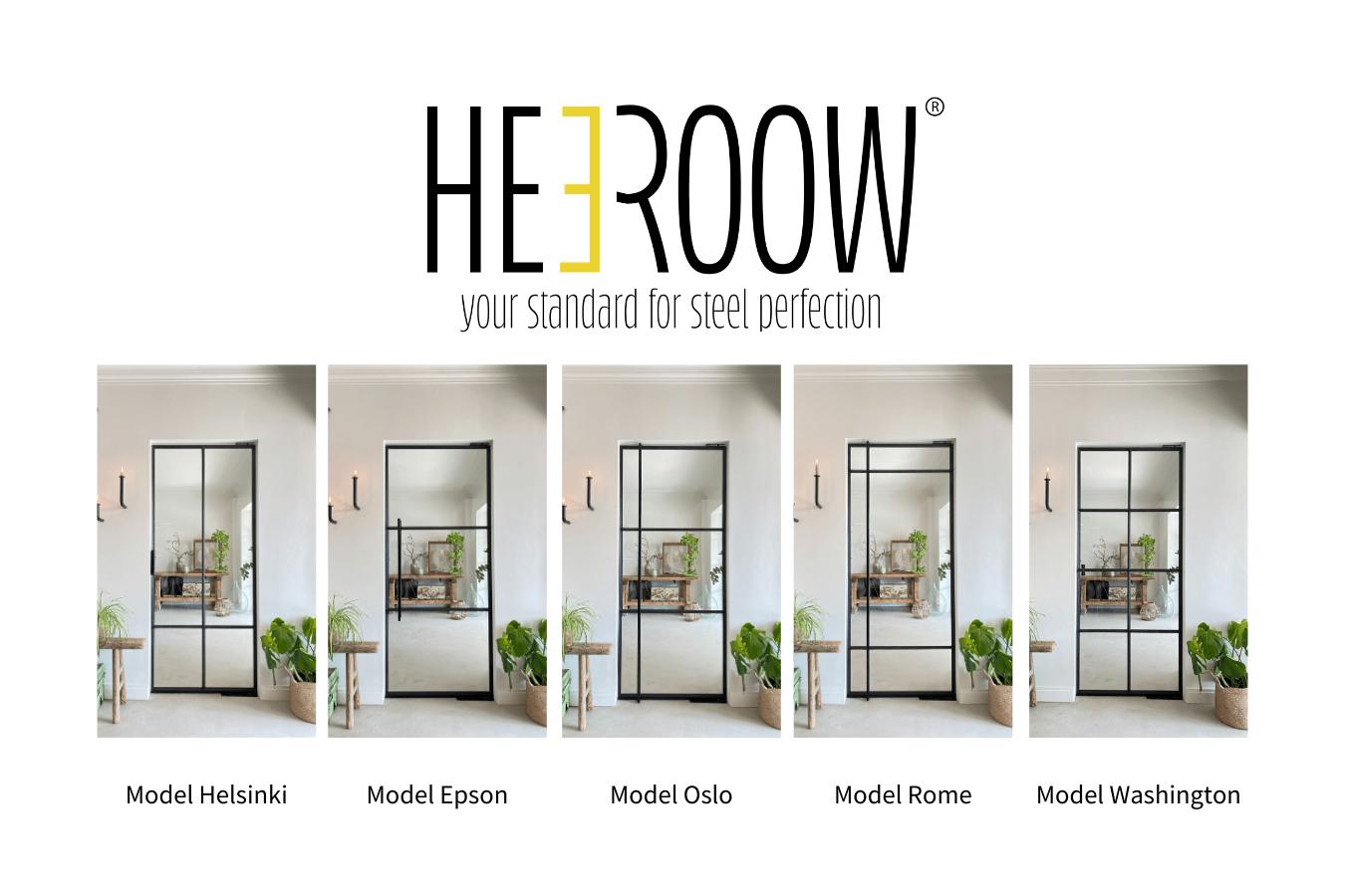 Heeroow vijf modellen