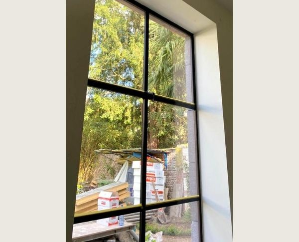 stalen buiten ramen Maastricht | schrijnwerk metaal | stalen buiten raam op maat